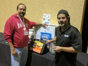 Winner of one of two grand prices, this one from Joseph Electronics