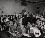 Edgar - Pop - Gordon hosted Let's Sing and Journeys in Music Land, serving thousands of schools around the state. Credit: UW Archives, image S08696