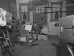 An early WPT production set for This is My Doorstep in the 1950s. Credit: UW Archives, image S10375