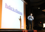 Students consider careers in broadcast marketing