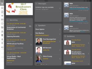 Broadcasters Clinic on iPad
