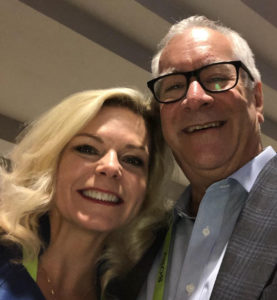 Michelle Vetterkind and Paul Jacobs