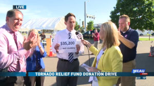 Eau Claire TV station raises money after tornado 1
