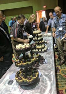 Cupcakes to celebrate Leonard Charles