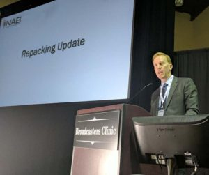 Patrick McFadden from NAB talks about the status of the spectrum auction repack