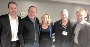 WBA members with State Senator Tom Tiffany