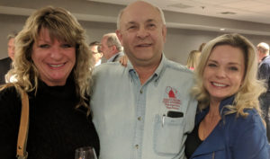 Barb Van De Hei and Michelle Vetterkind with Rep/. Gary Tauchen