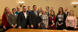 Young Professionals meet with Wisconsin State Senator Patrick Testin