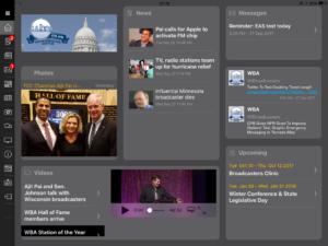 WBA App on iPad